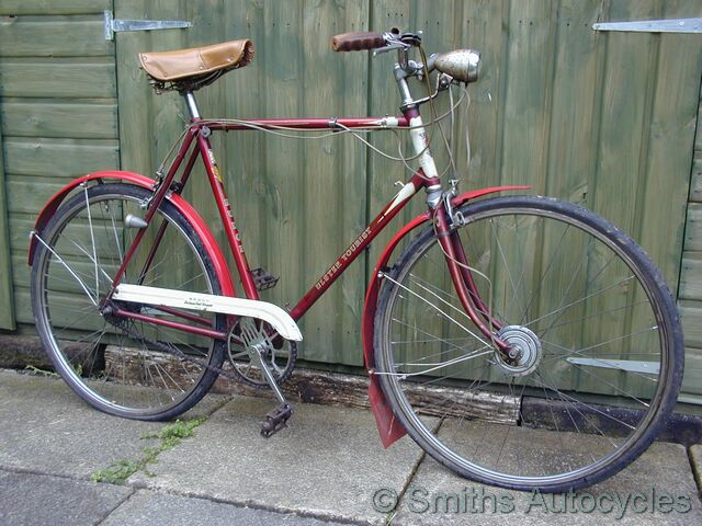 Smiths Autocycles Classic Bicycles 1952 Rudge Gents